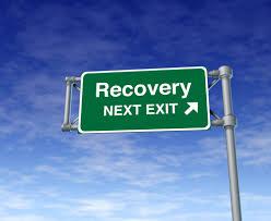 Cartello stradale di Recovery