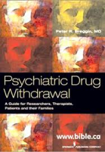 "copertina di ""psychiatrig drugs withdraval"""