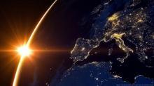 Europa vista dallo spazio